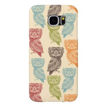 Cute Colorful Tribal Aztec Owl Pattern Samsung Galaxy S6 Cases