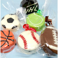 Sports Ball Chocolate Covered Oreo Cookie - FindGift.com