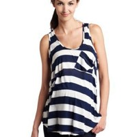 Maternal America Women's Maternity Racer Back Tank Top