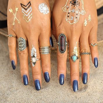 Tatanya Boho ring set