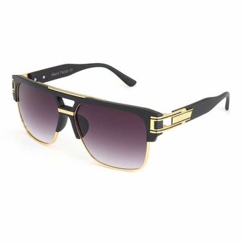 Royal Girl Top Quality Luxury Men Sunglasses Vintage Oversize Square Sun Glasses Women Clear Glasses Ss465