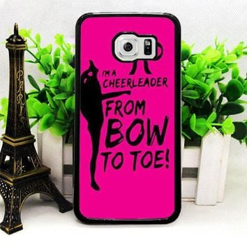 BOW TO TOE CHEER SAMSUNG S7 | S7 EDGE CASES