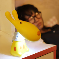 Bright Colorful Creative LED Lamp Cartoons Dogs Children Bedside Lamp [6268508870]