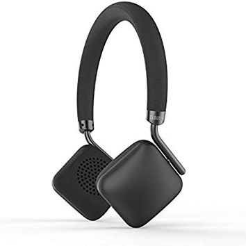 CLOUD FOX H2 Bluetooth Headphones On-Ear, Lightweight Wireless and Wired Headphones with Mic & 12-Hour Battery, Powerful Bass Headset with Soft Memory-Protein Cushions for Cell Phones, PC and Tablets