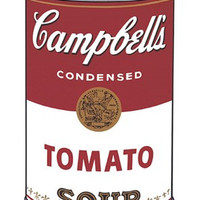Campbell's Soup I: Tomato, 1968 Poster Print by Andy Warhol