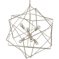 Currey and Company Aerial Chandelier