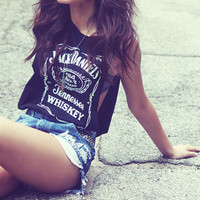 Jack Daniels Muscle Tank from ShopWunderlust on Storenvy
