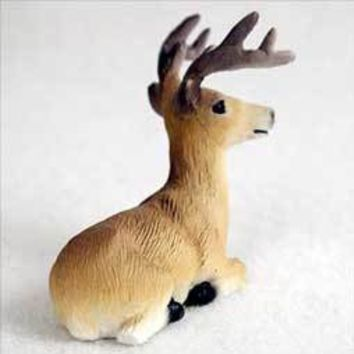 DEER BUCK TINY ONE FIGURINE