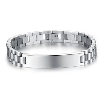 Gift Stylish Hot Sale Great Deal Awesome New Arrival Men Titanium Accessory Strong Character Fashion Shiny Bracelet [10783256899]