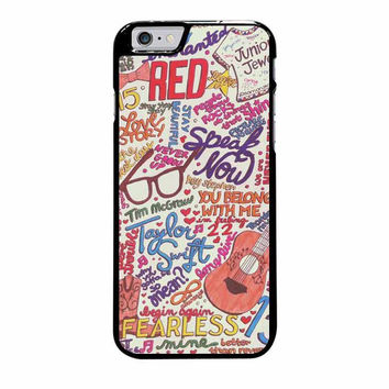taylor swift collage iphone 6 plus 6s plus 4 4s 5 5s 5c cases