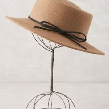 Mauno Boater by Anthropologie in Brown Size: One Size Accessories