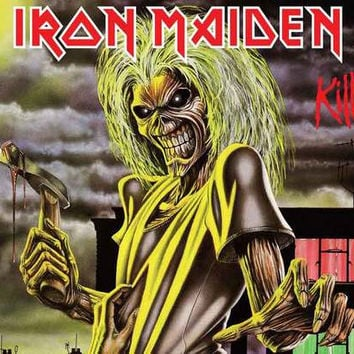 Iron Maiden Killers Album Cover Poster 11x17