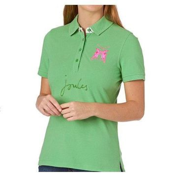 Joules Beaufort Classic Fit Neon Candy Women's Polo Shirt