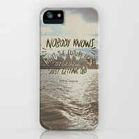 Nobody Knows iPhone & iPod Case by Josh LaFayette