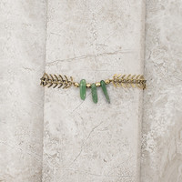 Tribal Stone Bracelet - Green