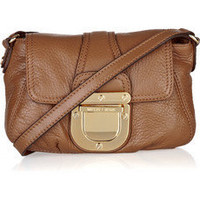 MICHAEL Michael Kors | Charlton and Layton textured-leather bag | NET-A-PORTER.COM