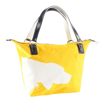 Julie Tote with Dog Design - Scratch, Dent and Closeout