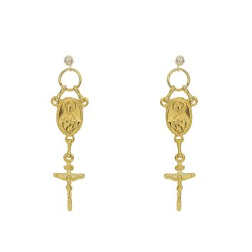 Straight Saint Earrings