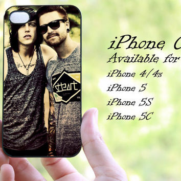 sleeping with sirens kellin quinn design iphone case for iphone 4 case, iphone 4s case, iphone 5 case, iphone 5s case, iphone 5c case