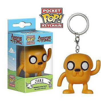 Funko Pocket Pop: Adventure Time - Jake Keychain