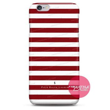 Ralph Lauren Polo Red iPhone Case 3, 4, 5, 6 Cover