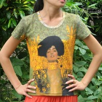 Judith - Gustav Klimt - size Large - Ladies T-Shirt