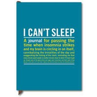 I Can?t Sleep Guided Journal from Knock Knock