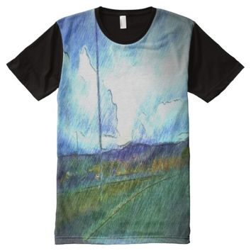 Landscape view All-Over-Print T-Shirt