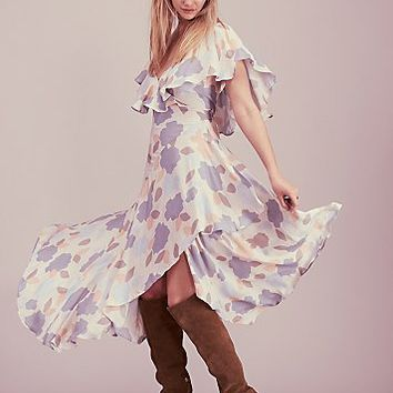 Free People Faye Wrap Dress