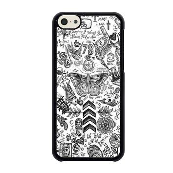 ONE DIRECTION TATTOOS iPhone 5C Case