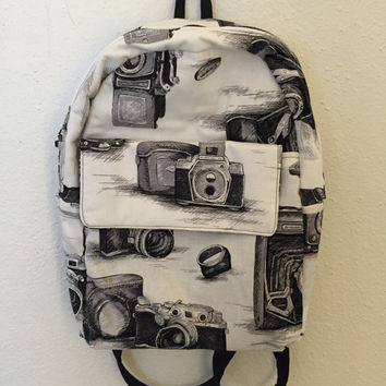 Custom Handmade Fabric Backpack Bag Carrier