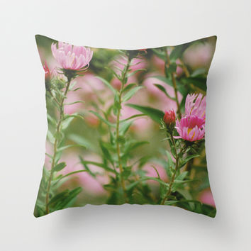 Rosa Was Here Throw Pillow by Bell in the Night