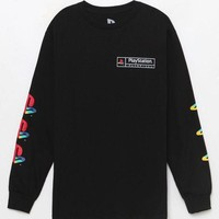 ONETOW Playstation Logos Long Sleeve T-Shirt at PacSun.com