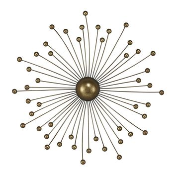 138-024 Withington Abstract Starburst Wall Décor By