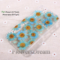 Pressed Flower iphone 6 case, iphone 6 plus, iPhone 5 case, iphone 5s case, iPhone 5c case, iPhone 4s case, Real Flowers-091