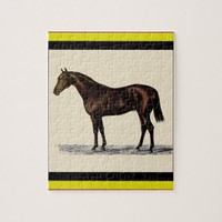 Brown Horse Jigsaw Puzzle