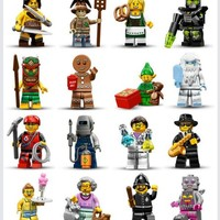 Lego Minifigure Series 11 - Complete Set of 16