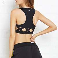 Medium Impact- Cutout Sports Bra