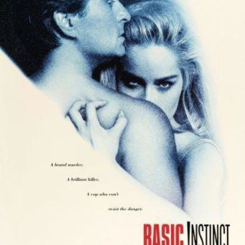 Basic Instinct Movie Poster Standup 4inx6in