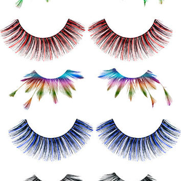 womens eyelashes 5 png files transparent images eyelash clip art png clipart digital download graphics images beauty makeup printables