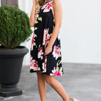 Never Too Bold Dress, Black