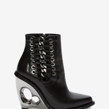 Sculpted Wedge Boot | Alexander McQueen