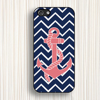 pink anchor,chevron iphone case,iphone 5c case,chevron iphone 5s case,iphone 5 case,anchor iphone 4 case,iphone 4s case,geometry case