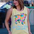Floral Proud Pig Tee Tank by SOUTHERN TREND {Butter}