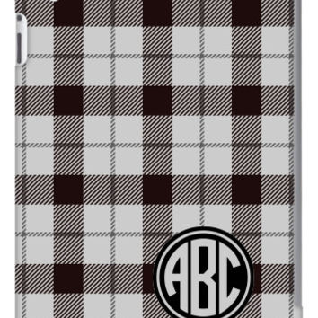 Plaid Monogram iPad 2, 3 & Retina Slim Case