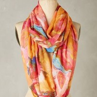 Florianne Infinity Scarf by Anthropologie in Pink Size: One Size Scarves