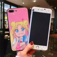 Sailormoon Cupcakes Phone Case for iphone 6/6s/6plus/7/7plus/8/8P/X from pennycrafts