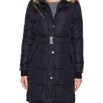 Rachel Rachel Roy Women's Cargo Zip Hood Jacket - Dark Blue/Navy -