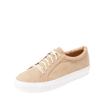 Bettye by Bettye Muller Women's Boyfriend Nubuck Low Top Sneaker -