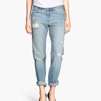 Boyfriend Low Jeans | Product Detail | H&M